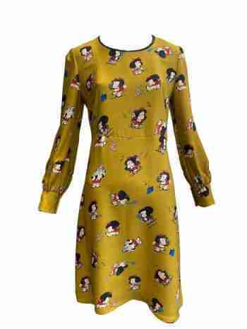 Ottod'Ame print dress front